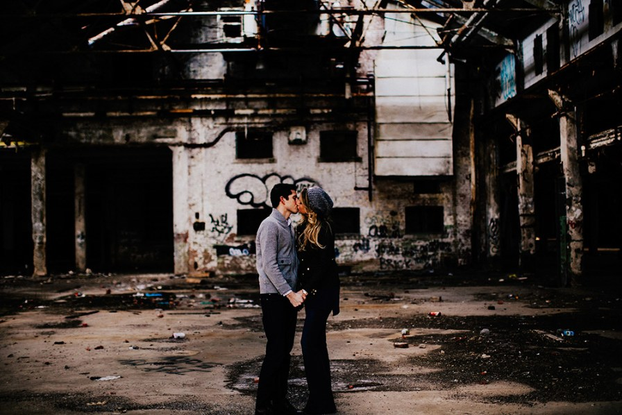 industrial engagement session cleveland ohio 12