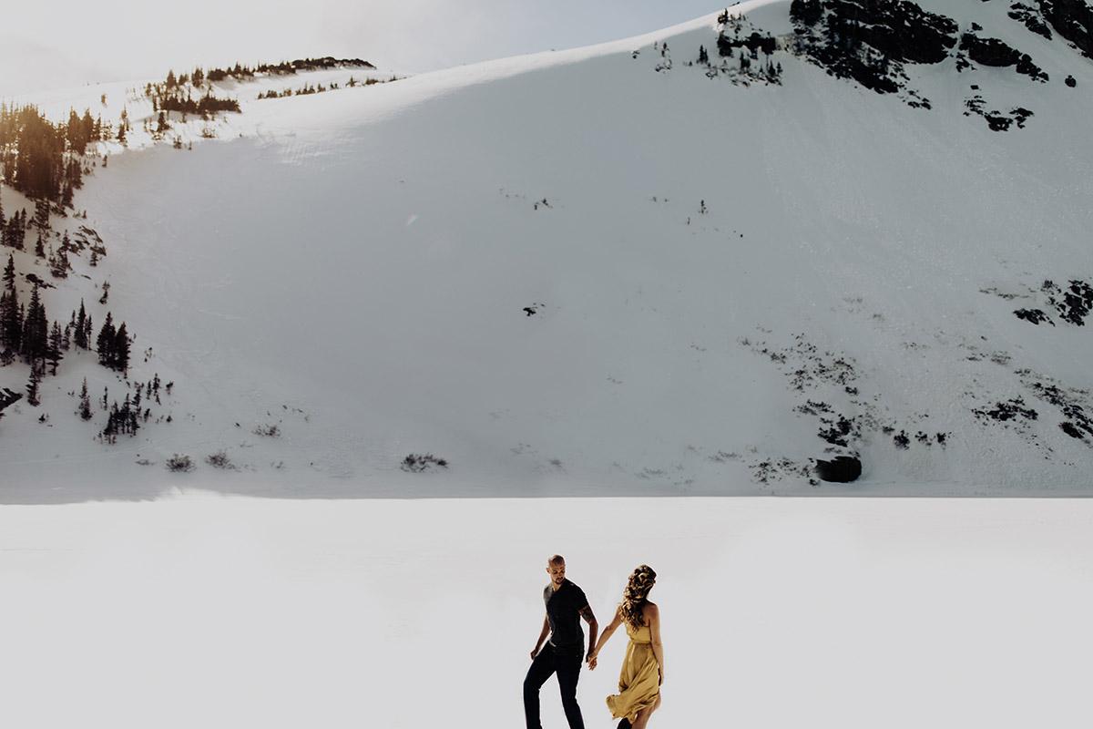 Adventure-Elopement-Photographer-Colorado-st-marys-glacier-idaho-springs-couple-walking