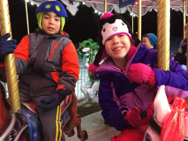 Cousins at Festival of Lights