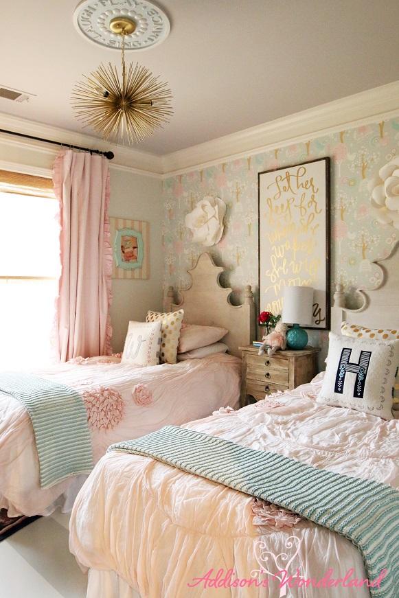 Winnie's Little Girl Room Design Reveal! - Addison's ... on Room Girl  id=63999