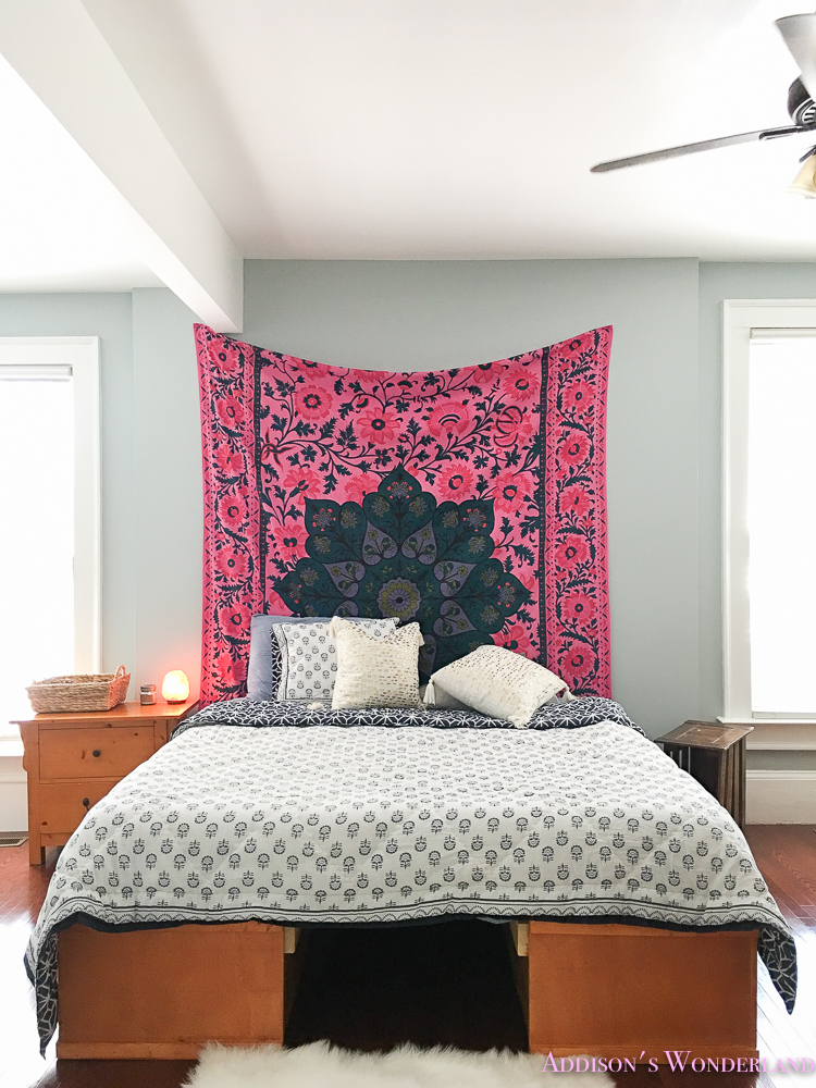 A Surprise Budget Boho Chic Bedroom Makeover on Boho Bedroom Ideas On A Budget  id=99240