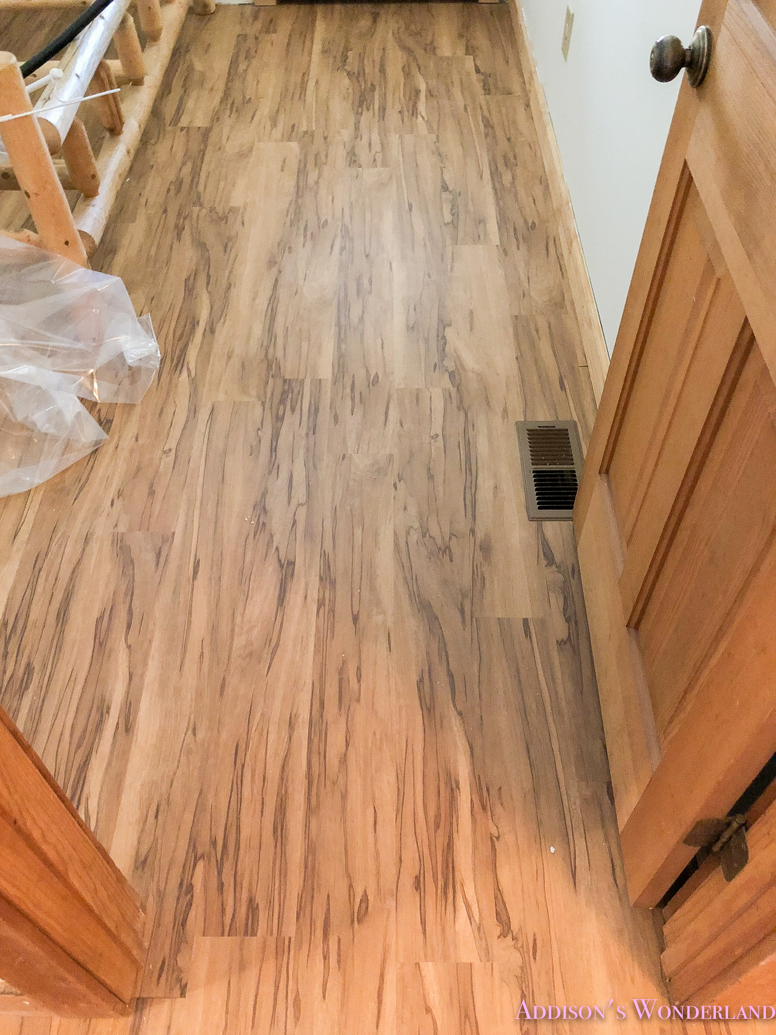 our new shaw floors hardwood tile in