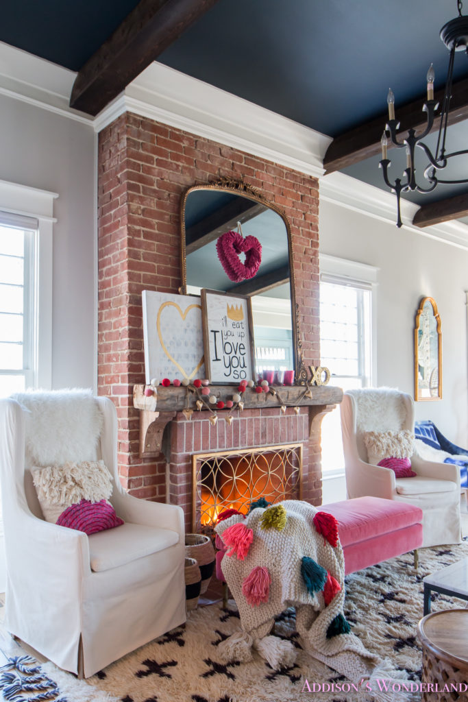 Our Colorful, Whimsical & Elegant Valentine's Day Living ... on Room Decoration  id=22230