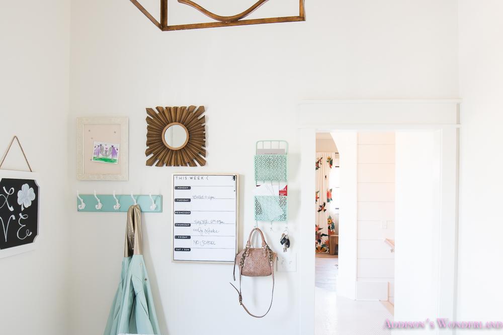 Bealls Outlet Home Decor Wall Organizational Ideas Command Center Mud Room Laundry Room Ca Dar Coat Hook Chalkboard