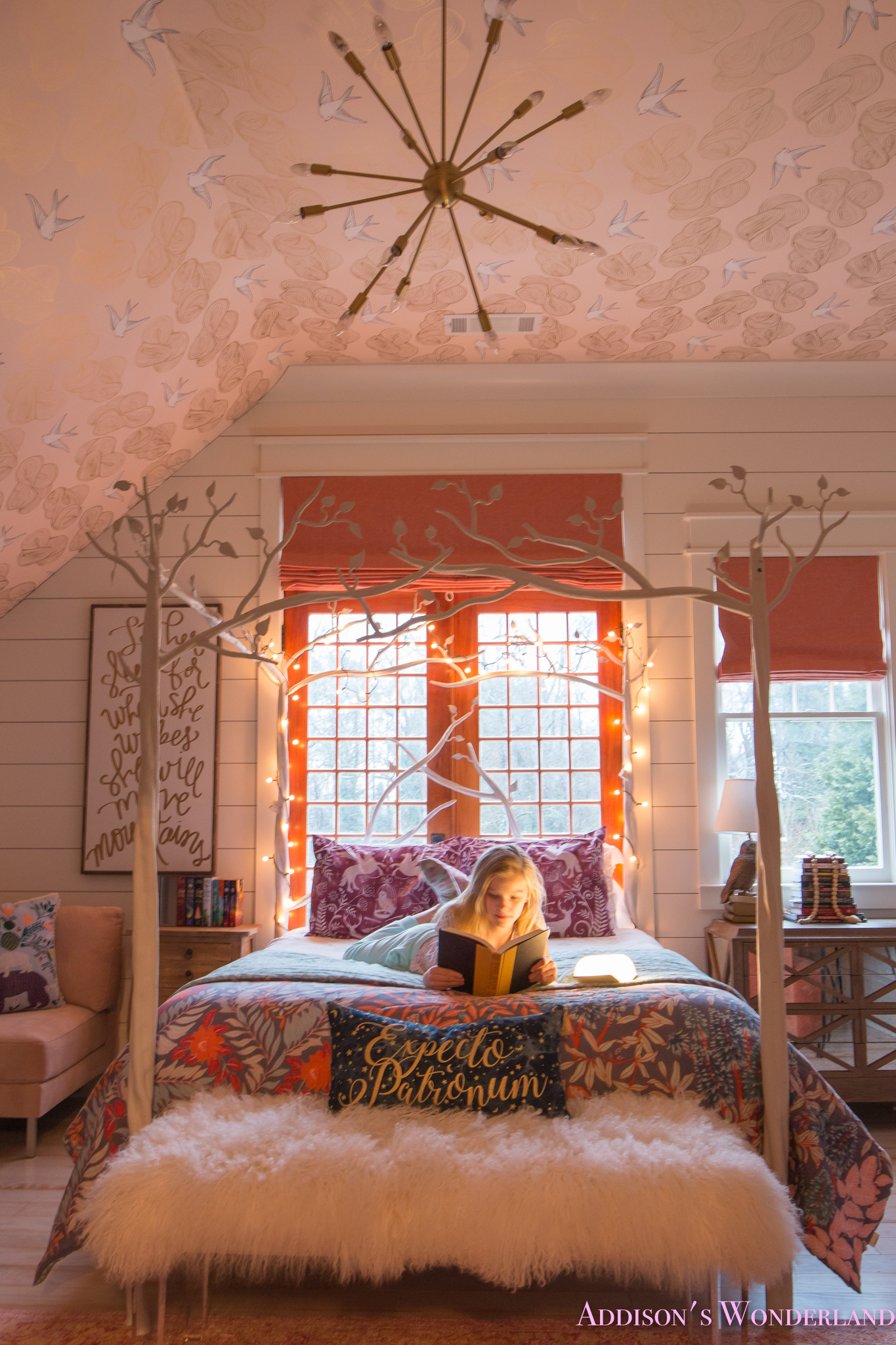Creating a Beautiful Harry Potter Themed Bedroom for ... on Decoration For Girls Room  id=21832