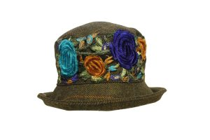Peak & Brim - Clare Colour Navy/Turquoise