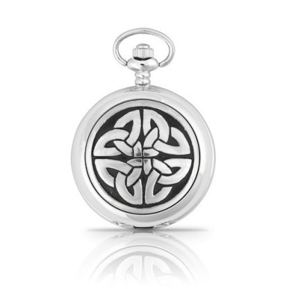 Celtic Knotwork Pocket Watch from A E Williams