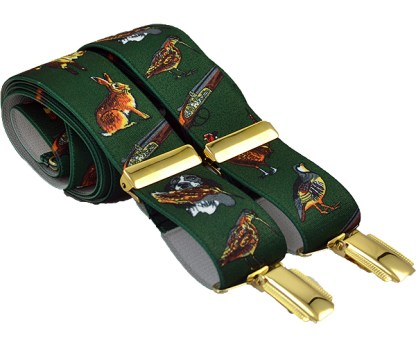 Gun Dogs Braces with clips