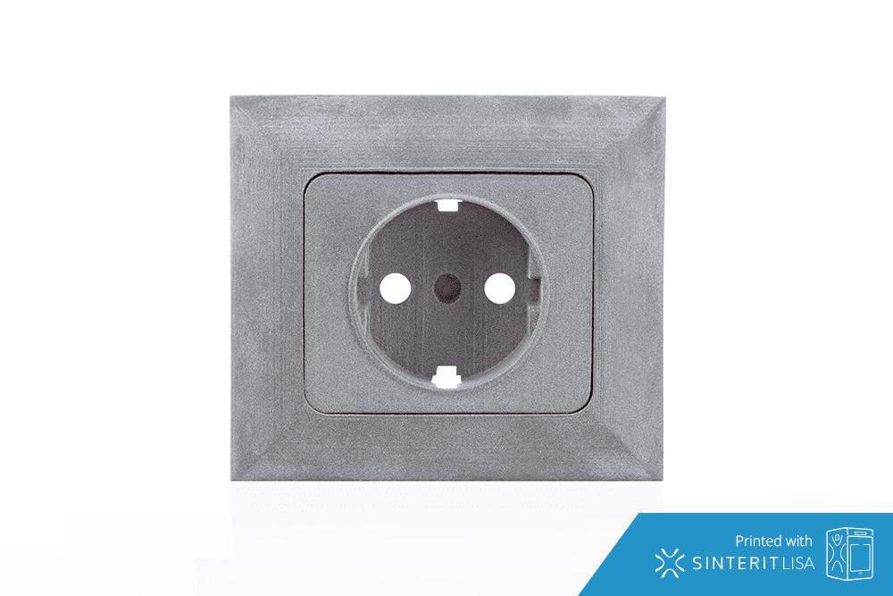 SLS 3D printed socket
