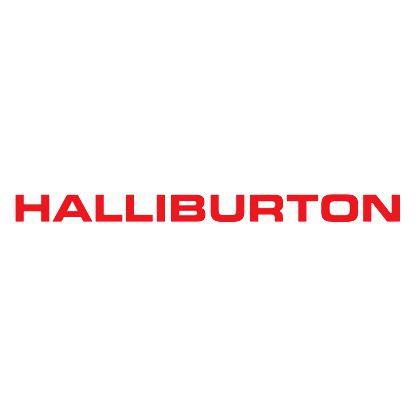 Halliburton logo white