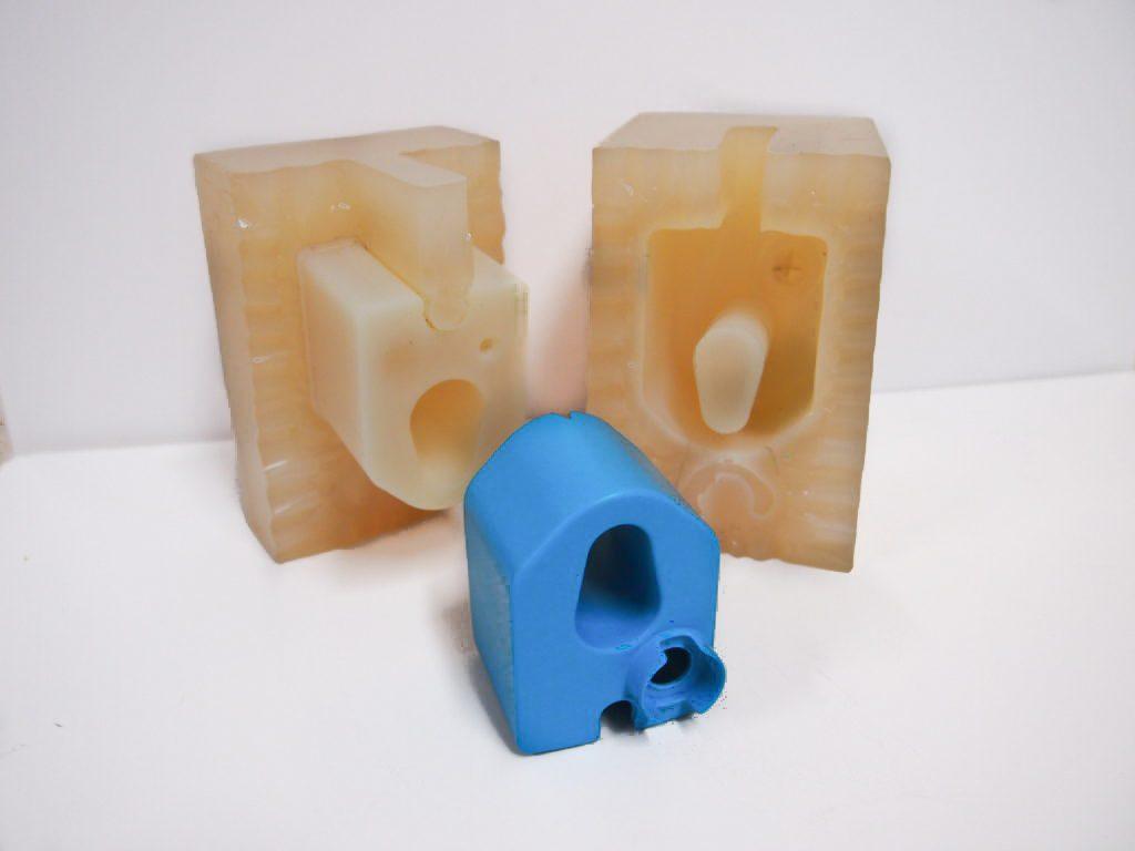 vacuum cast blue