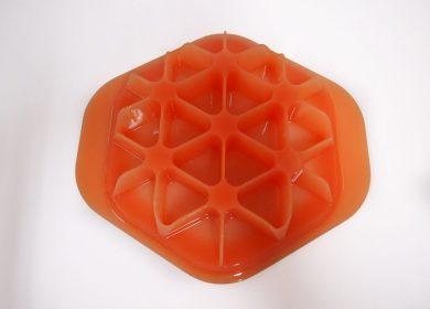 vacuum cast orange