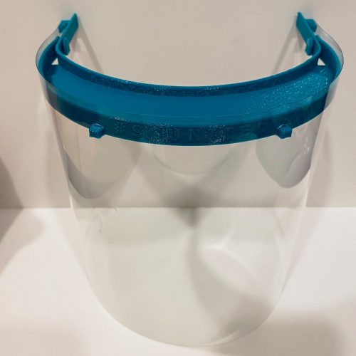 new face shield front