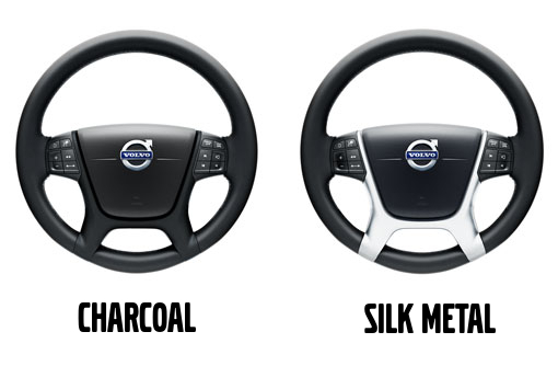 Volvo Steering Wheel Decor Panel