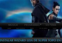 instalar wizard leia de super topo en kodi 17 krypton jarvis 16