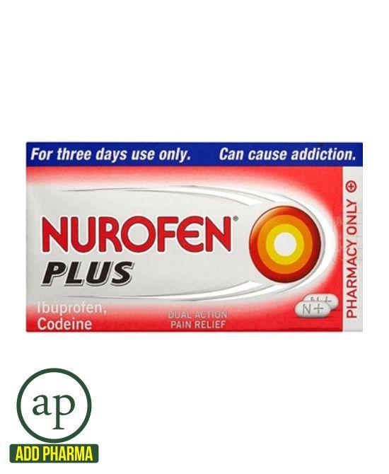 Nurofen Plus - 12 Tablets