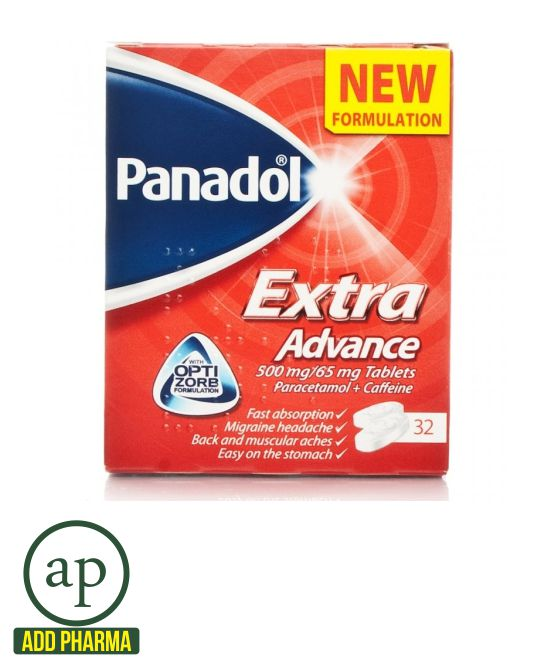 Panadol Extra Advance Tablets - 32 Tablets