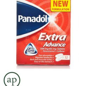 Panadol Extra Advance Tablets - 32 Tablets