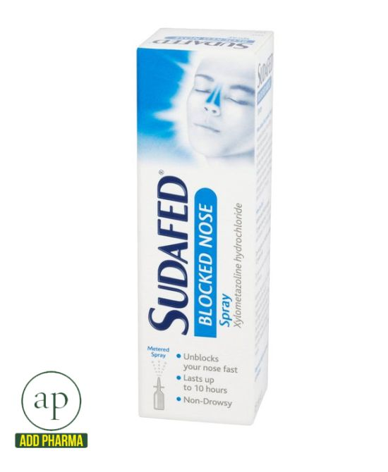 Sudafed Blocked Nose Spray- 15ml