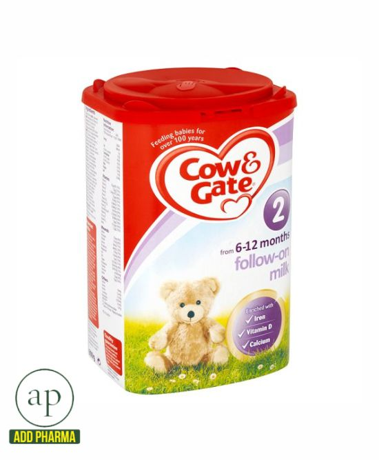 Cow And Gate 2 Follow On Milk Powder - 900G