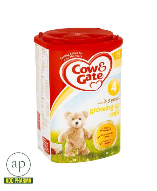 Cow And Gate 4 Growing Up Milk Powder 2+ Years - 800G