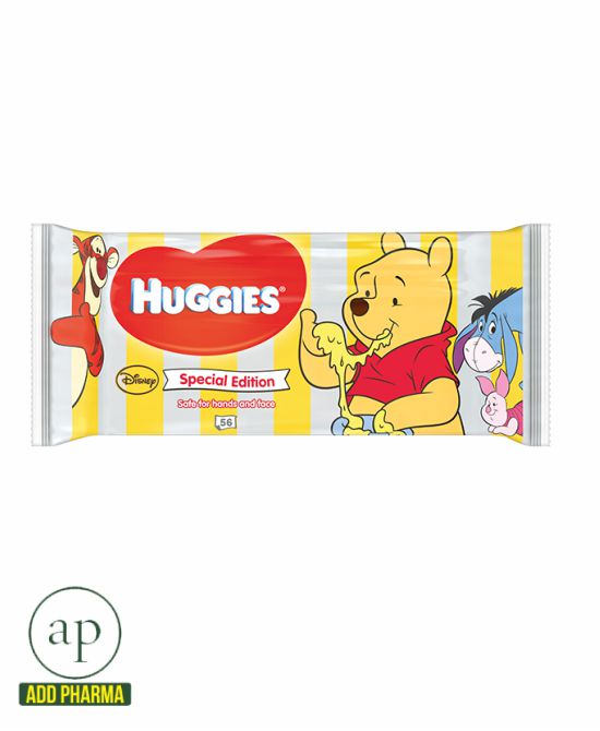 Huggies Baby Wipes Singles Special Edition Disney - 56 wipes