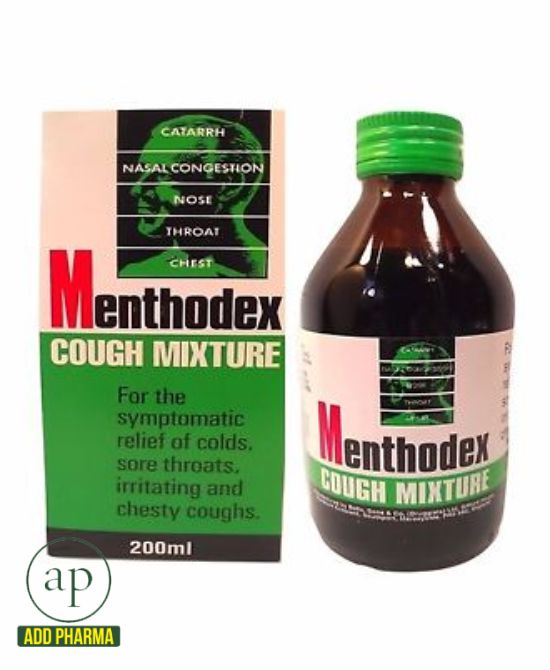 Menthodex Cough Mixture 200ml