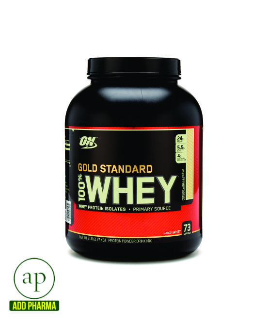 Gold Standard Whey Protein powder - 73gm (909g)