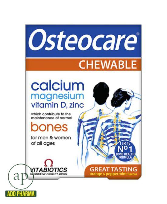 Vitabiotics Osteocare Chewable - 30 Tablets