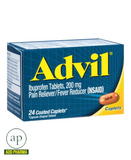 Advil® (Ibuprofen) - 200mg (24 Caplets)