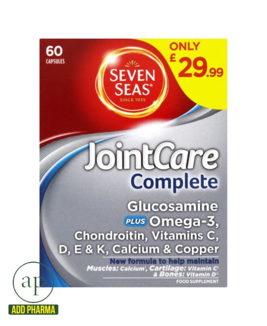 Seven Seas JointCare Complete - 60 Capsules