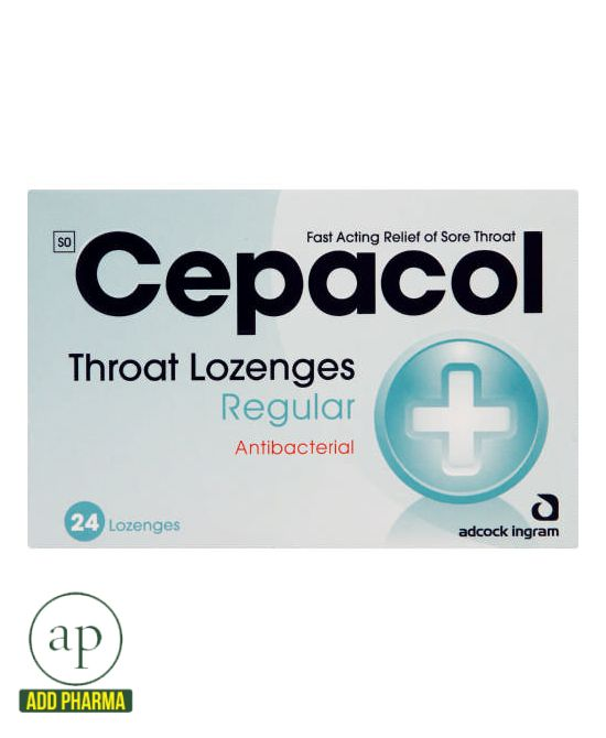 Cepacol Regular - 24 Throat Lozenges