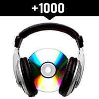 Comprar 1000 reproducciones locales en Spotify