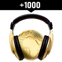 Comprar 1000 reproducciones internacionales en Spotify