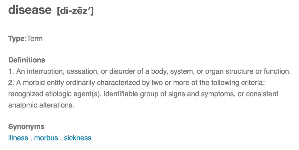 psykisk lidelse definition