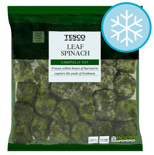 Tesco Leaf Spinach