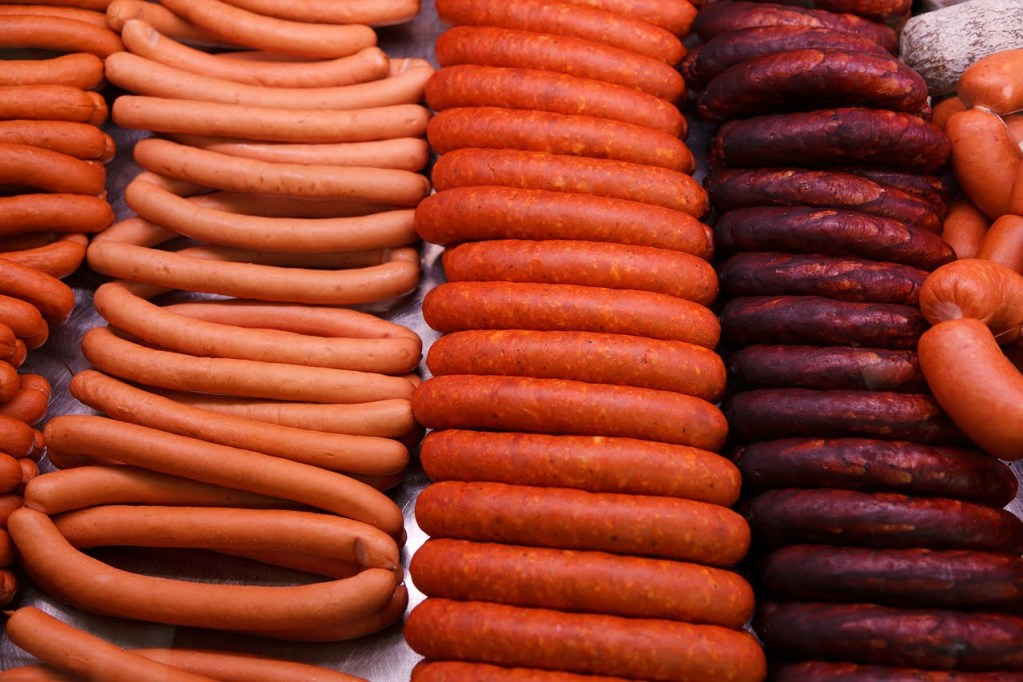 different types of keto sausages