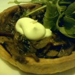 Mushroom pie starter at SALT