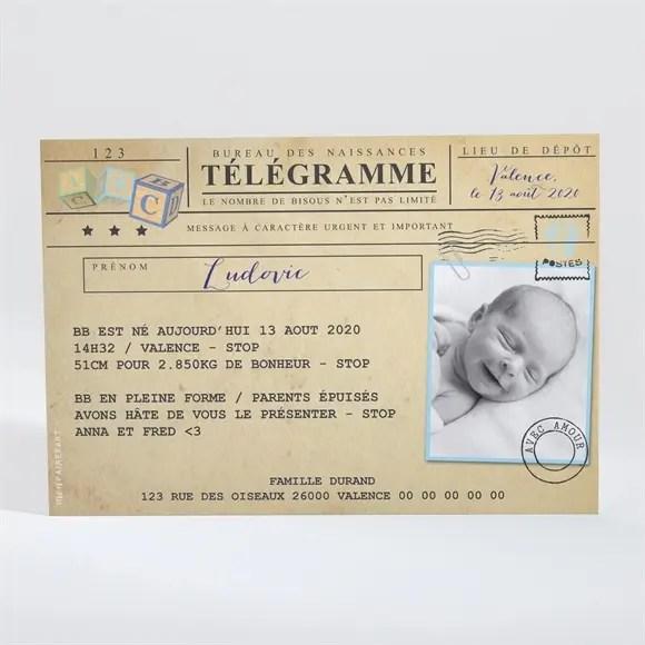 faire part naissance mon petit passeport