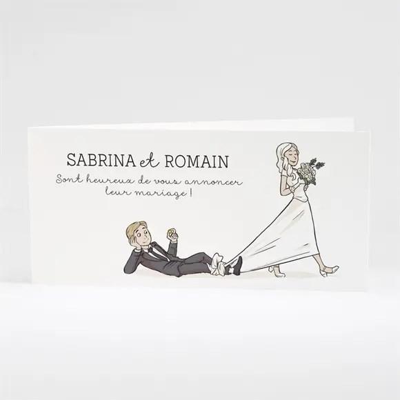 faire part mariage mariage original en humour