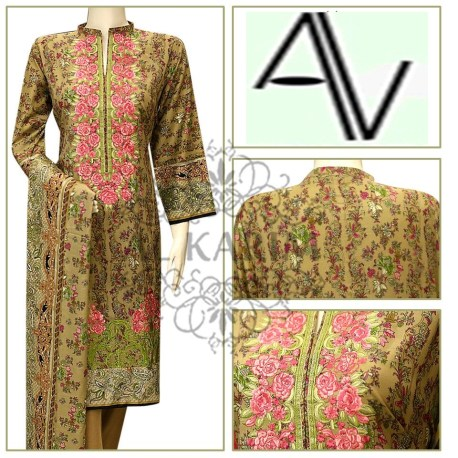Product Code: D# 243 GREEN Fabric: LAWN Price: 5125 PKR Sizes: Small DETAILS: 3 PIECE PRINTED AND EMBROIDERED LAWN SUIT Note : Embroidery shirts have been styled in the image for photography and illustrative purposes. The standard style comes as a long sleeved kameez & dupatta. AND SHALWAR