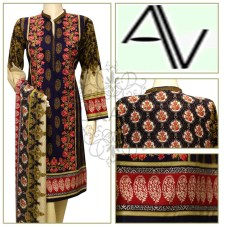 Product Code: D#219 Fabric: LAWN Price: 5050 PKR Sizes: Large DETAILS: 3 PIECE PRINTED AND EMBROIDERED LAWN SUIT. Note : Embroidery shirts have been styled in the image for photography and illustrative purposes. The standard style comes as a long sleeved kameez & dupatta. and Shalwar