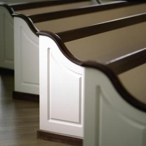 Pews with a Curve