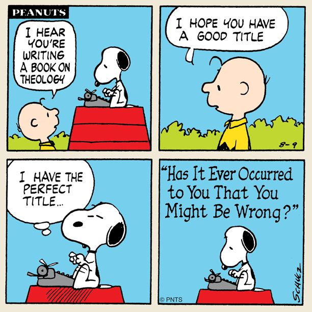 Snoopy's Theology