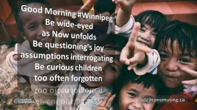 Be Wide-Eyes