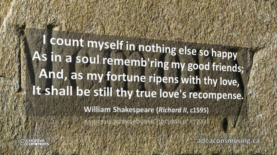 William Shakespeare (c1595)