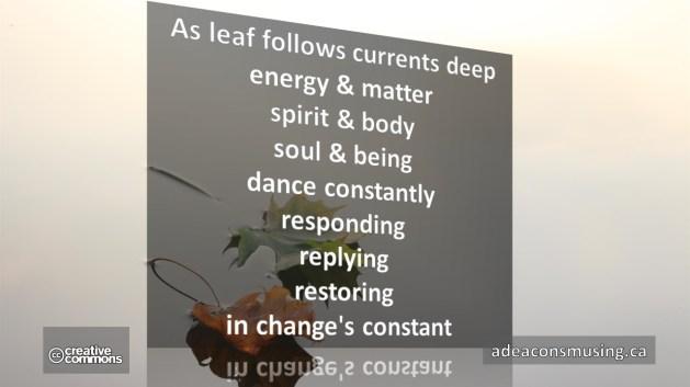Change's Constant