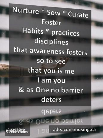 No Barrier Deters