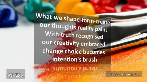 Intention's Brush