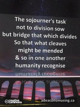 Sojourner's Task